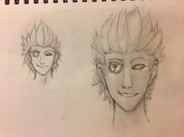 Concept sketch for Mr. Dandy