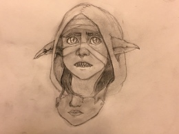Result of PubDraw week 3 of Feb. (I completely forgot to tune in for week 4.)