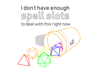 spell slots dark transparent (this)